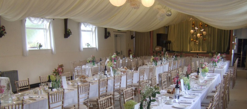 Scotby Village Hall Wedding